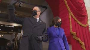 Biden inauguration: VP-elect Kamala Harris, Doug Emhoff arrive at Capitol Hill ahead of swearing-in (04:11)