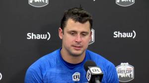 RAW: Blue Bombers Post Game Media Conference – Nov. 17