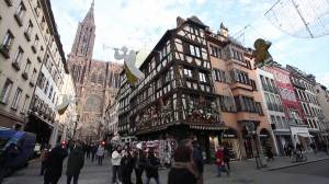 Strasbourg's Christmas market reopens one year after deadly shooting