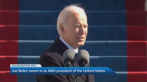Recapping historic U.S. inauguration as Biden begins presidency (04:53)