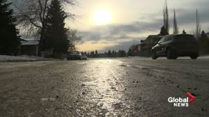 City of Edmonton crews are prioritizing icy roads based off complaints (01:42)