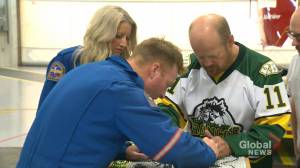 Humboldt Broncos tribute stirring emotion across a continent