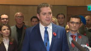 Scheer says leadership review will 'always' be in hands of Conservative members
