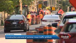 Toronto working to relieve congestion as traffic returns to pre-pandemic levels (01:58)