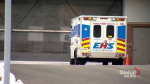 Few N.S. Hospitals meet paramedics' patient offload goal, system overhaul needed (01:58)