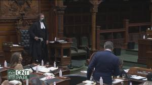 Ford government passes controversial legislation (02:01)