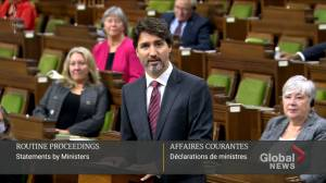 Trudeau pays tribute to late PM John Turner in House of Commons (04:13)