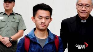 Murder suspect that sparked Hong Kong protests released from prison
