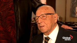 Second World War veteran celebrates his 100th birthday