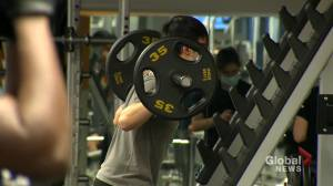 Montreal fitness centres reopen to eager gymgoers after 6-month COVID-19 shutdown (02:01)