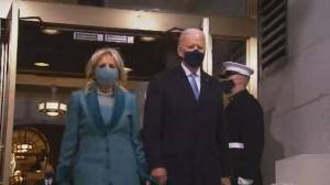 Biden inauguration: Joe Biden, Jill Biden arrive at Capitol ahead of swearing-in (04:01)