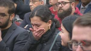 'An opportunity for us to grieve, but not forget': Iranian plane passengers honoured at SMU vigil