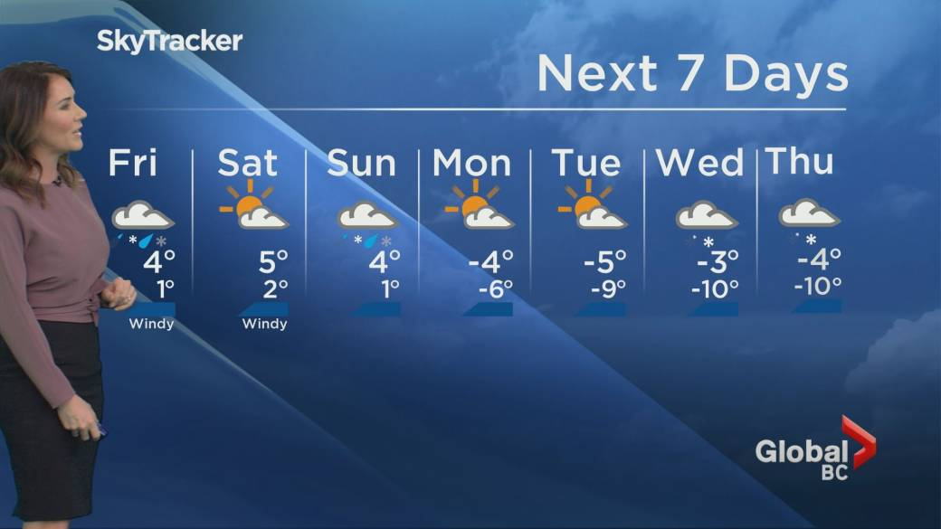 Up To 25 Cm Possible As Metro Vancouver Preps For 1st Snowfall Of The Season Bc Globalnews Ca