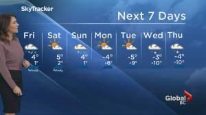 B.C. evening weather forecast: Jan 9