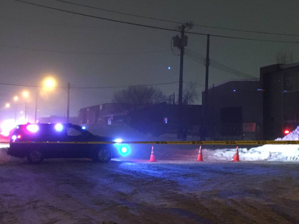 Body found outside business in west Edmonton industrial area