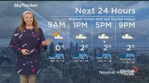 Global News Morning weather forecast: February 23, 2021 (01:12)