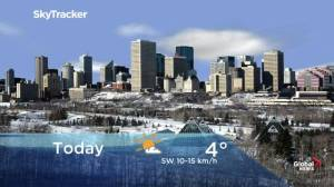 Edmonton early morning weather forecast: Thursday, November 21, 2019