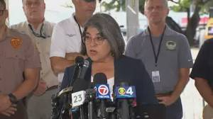 Miami-Dade County mayor says she's authorized demolition of Surfside building, but not happening yet (01:46)