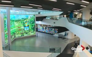 Inside tour of new Stanley A. Milner Library