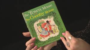 Sydney Morton reads the Town Mouse and the Country Mouse
