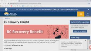 B.C. government under fire for delayed recovery benefit payments (02:00)