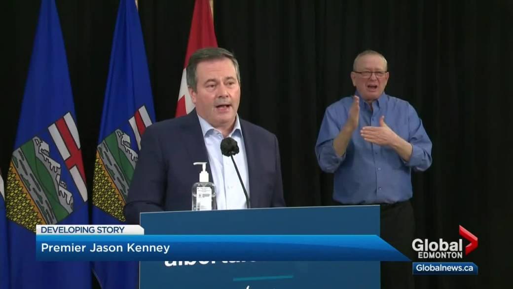 Click to play video 'Alberta COVID-19 restrictions remain in place until Jan. 21'