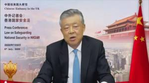 Chinese ambassador accuses U.K. of 'gross interference' over Hong Kong