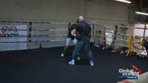 Alberta boxing family moves from the garage to a gym