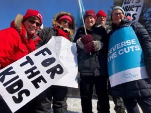 Peterborough teachers join provincewide strike by public educators
