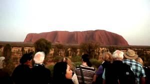 Tourists rush to climb Australia's Uluru rock before climbing ban