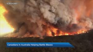 Canadians helping battle wildfires in Australia