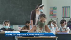 Health officials call on Premier to keep schools open in the wake of another lockdown (04:53)