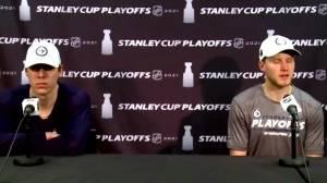 RAW: Winnipeg Jets Stanley & Toninato Interview – May 19 (06:41)