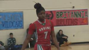 Britannia basketball star overcomes huge obstacles
