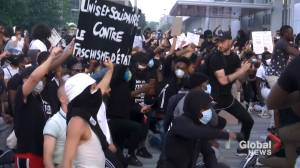 Paris police fire tear gas to disperse anti-racism protesters