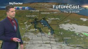 Foggy, then sunny: August 25 Manitoba weather outlook (01:39)