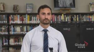 Ontario announces more funding for air ventilation improvements in schools (02:29)