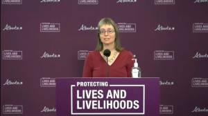 Hinshaw says Alberta 'likely would have' seen spike even without relaxing COVID-19 restrictions (01:16)