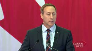 Peter MacKay says he will stand up to Trudeau; vows to 'unite' Canada
