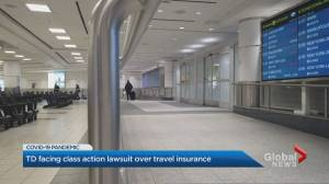 TD facing class action lawsuit over travel insurance (01:40)