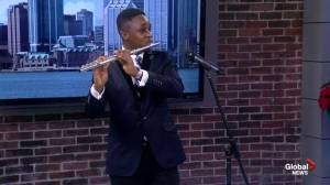 Nigerian flute student hoping to continue studies in Halifax