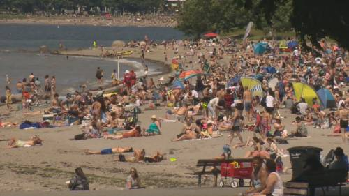 Heat wave hits B.C. South Coast amid eased restrictions