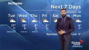 Edmonton Weather Forecast: Sept. 23