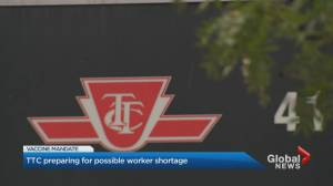 TTC's biggest union warns of service cuts due to COVID-19 vaccination mandate (02:35)