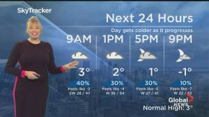 Global News Morning weather forecast: Monday, November 23, 2020 (01:59)