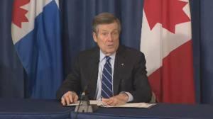 Coronavirus outbreak: Toronto mayor announces online crowdfunding platform to help businesses