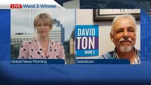 Councillor-elect David Kirton on becoming city's newest councillor (03:59)