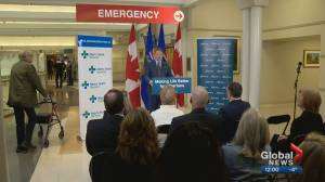 Alberta government announces upgrades to Peter Lougheed Centre ER, mental health units