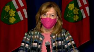 Ontario health minister says COVID-19 vaccination for children will not be compulsory (00:55)
