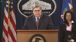 George Floyd death: AG Barr says foreign influence not limited to elections